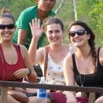 Le Bambou Train à Battambang - Cambodge