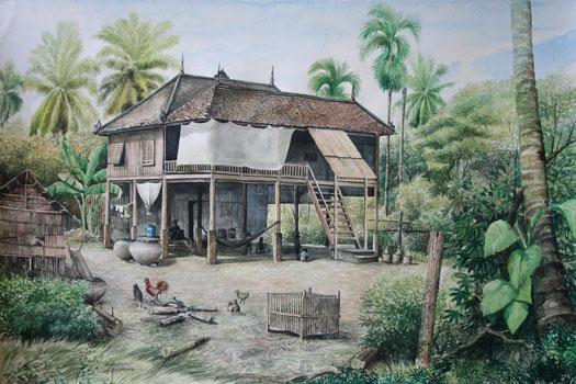 Les maisons traditionnelles du cambodge les guides du for Acheter maison cambodge