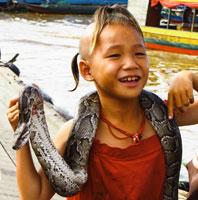 Village lacustre de Chong Kneas