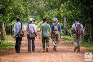 Séjour à Banteay Srey
