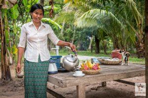 Nos hôtes à Banteay Srey